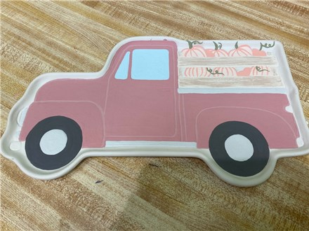 Truck Plate with Pumpkins Friday, October 23rd 3:00PM - 5:00PM