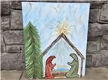 Dec. 7th Manger Canvas Class