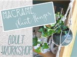 Adult Class: Macrame Plant Hangers - August 3 @ 6pm