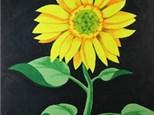 "Coffee & Canvas ""Sunflower"""