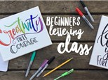 Beginners Lettering Class