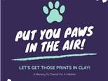 Clay Paw Prints