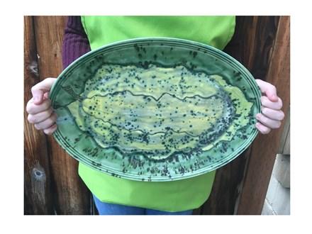 Pottery Class: Stoneware Platter