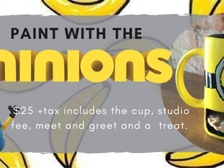 Paint with the Minions