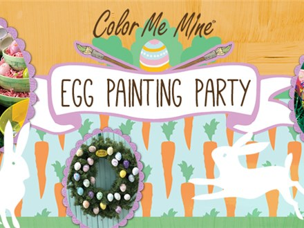 EASTER EGG PAINTING PARTY! - April 13, 2019