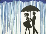 Adult Canvas Night Sept 24th Meet Me in the Rain