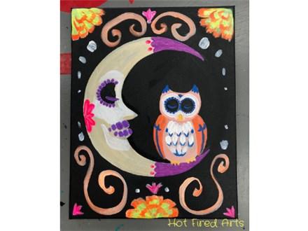Paint n' Sip: Skull Moon