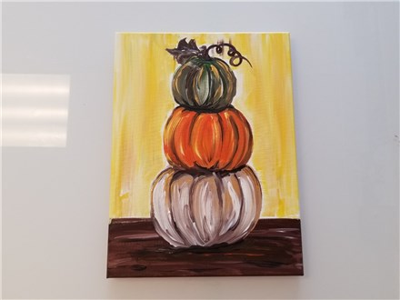 Pumpkin Stack $35 (Adult BYOW)