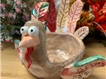 Art Club: Clay Turkey Handprint Bowl