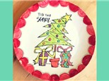 Adult Pottery Camp: Tis The Season Plate