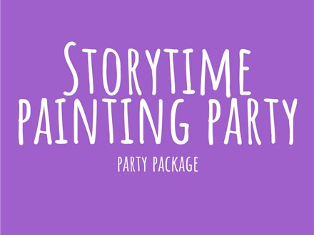Storytime Painting - Party Package