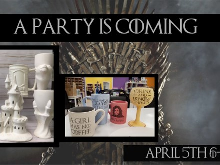 Game of Thrones Paint Night