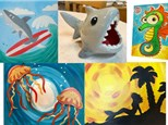 Under the Sea- July 23rd to 27th-  12pm to 4pm