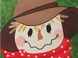 Kids Canvas Scarecrow Class - November 11th