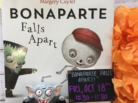 "Pre-K Storytime ""Bonaparte Falls Apart!"""