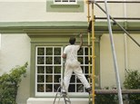 Exterior Painting: Brookhaven Wallpaper & Blinds