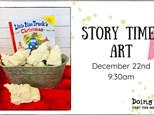 Story Time Art - Little Blue Truck's Christmas