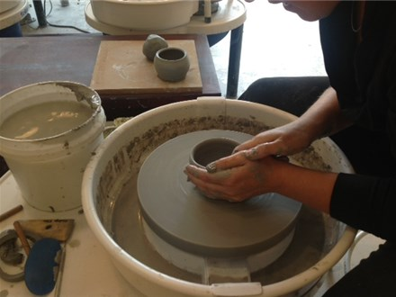 Mixed Ages Pottery Wheel (Saturdays Spring 2016)