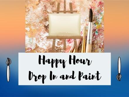Happy Hour Paint Class