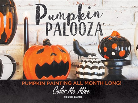 Pumpkin Painting Party- Saturday, October 31st 10am