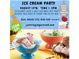 Ice Cream Sundaes Family Event - 08/12