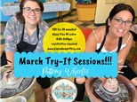 March First Friday Pottery Wheel Try-It Sessions