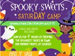 Halloween Spooky Treats SaturDAY Camp