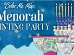 Menorah Painting Party