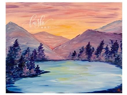 Mountains Majesty Paint Class