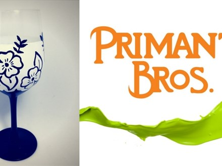 Glass Painting @ Primanti Bros