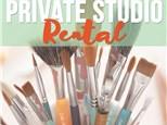 Small Private Studio Rental - 45 Person Max