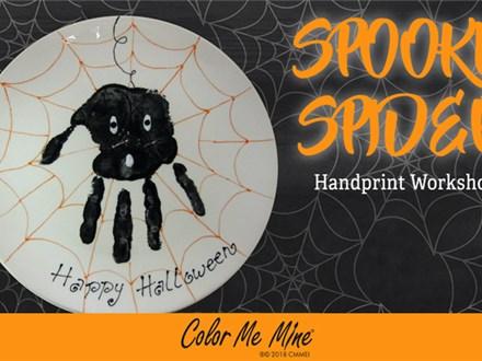 Memory Maker: Spooky Spider - October 2