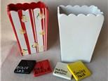 Popcorn Holder Take Home Kit