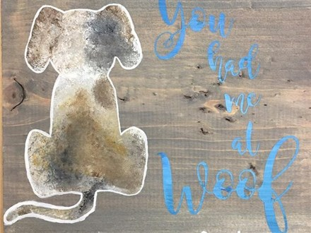 Kid's Board Art - You Had Me at Woof - 01.11.17 - Afternoon Session