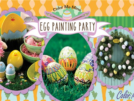 Family Egg Painting Party - March 18