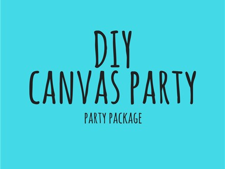 DIY Canvas - Party Package