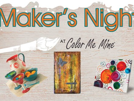 Maker's Night - Succulent Planters! - May 24