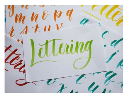 Lettering & Watercolor #2