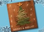 Christmas Tree String Art - Dec. 6th