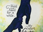 Family Canvas - Hold My Hand - 06.18.17
