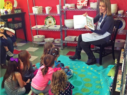 Story Time at Brush with Art