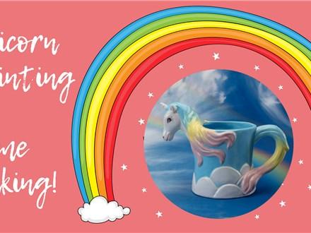 Unicorn Painting & Slime Making!