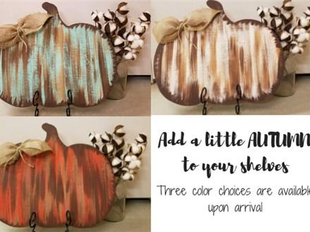 Shelf Sitter Pumpkin Paint Class