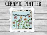 Ceramic - Bloom Where You Are Planted