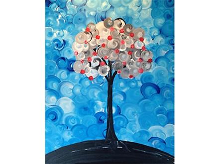 Whimsy Peach Tree