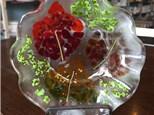 Glass Leaf Bowls! Saturday, October 8th 7-9p