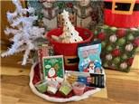Christmas Tree Bucket - Rocky Mountain Chocolate Reindeer Apple Included!