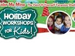 Holiday Kids Workshop -December 26-28, 2018 (Torrance)