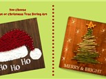 Megan's Christmas String Art Painting Party - PRIVATE