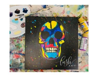 Skull Virtual Paint Class